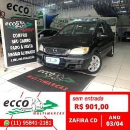 Título do anúncio: Chevrolet Zafira  CD 2.0 16V GASOLINA AUTOMÁTICO