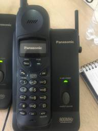 Conjunto 3 telefones sem fio Panasonic
