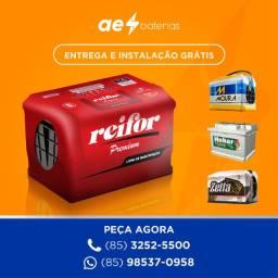 Título do anúncio: Bateria celta bateria carro bateria punto bateria agile bateria bateria