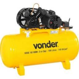 Compressor de ar 200 litros 140 lbs Vonder