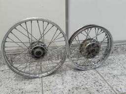 Roda raiada biz (para freio a disco)