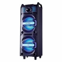 Produto novo. De:R$800,00 por R$499,00Caixa de Som Torre Multilaser Party DJ SP285