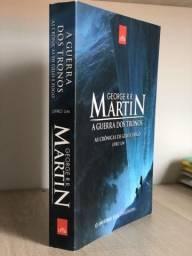 Livro: A guerra dos tronos
