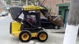 Mini carregadeira New Holland