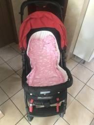 Extra !!! Carinho e bebê conforto da Burigoto
