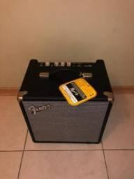 Amplificador Fender Rumble novo. 3 unidades de 25, uma de 40 e uma de 100