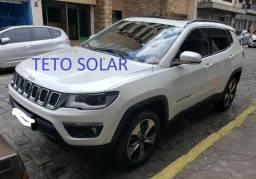 Vendo Jeep Compass Diesel longitude com Teto Solar - 2017