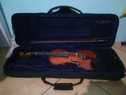 Violino Eagle 4/4 Usado, em Ótimas Condições, c/ arco e muito mais