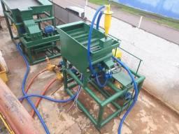 Planta piloto para extração de ouro e minérios