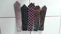5 gravatas bem conservadas