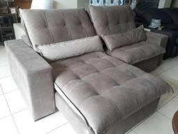 Mostruário sofá retrátil 2,50m