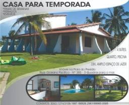 Vende-se ou aluga-de casa de praia no Presidio-Aquiraz-ce