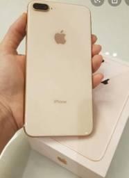 IPhone 8 Plus rose 64gb novinho