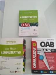 Combo oab - direito administrativo