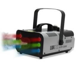 Maquina De Fumaça Profissional de 1200W ideal para Djs, festas e shows, bares.