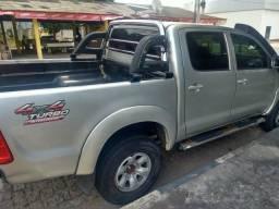 Hilux turbo diesel 4x4 manual não aceito troca só venda - 2006