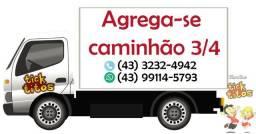 Agrega-se caminhão 3/4 em Sertanópolis - PR