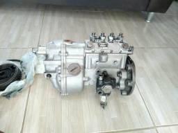 Motor e caixa mercedinha 608 vendo ou troco por moto - 1984
