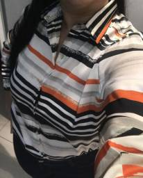 Blaser com blusa