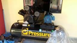 Vendo/Troco compressor de Ar Pressure Onix 40 pés NOVO
