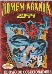 Homem-Aranha 2099 - Ed.01 - 52pg - 1993 - Revista em Quadrinhos Marvel-Abril