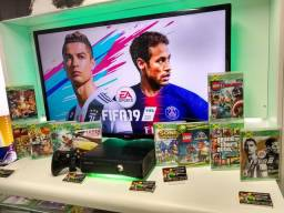 Xbox 360 dêsbloqueado com 10 jogos