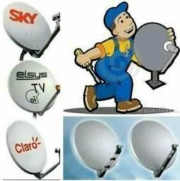 Técnico//instalações//vendas//planos//sky