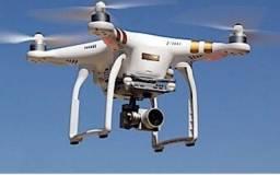 Trabalhos com drone