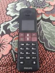 Telefone sem fio Philips D450 novinho