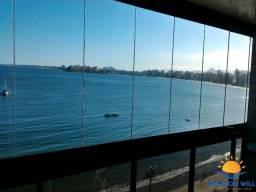 Aluguel Temporada 03 quartos frente o mar, 02 garagens, internet e SKY. Praia do Morro