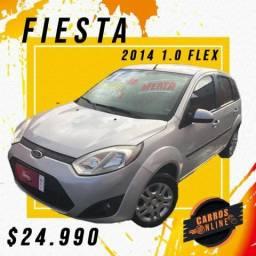 Fiesta 2014 1.0 Completo - Com Garantia de Loja!! Financiamos sem entrada!! - 2014