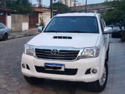 Toyota Hilux 3.0 4x4 SRV TOP 14/14 Branca Diesel - 2014
