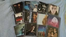 CDs de vários artistas