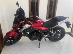 CB 500F zerada - 2019