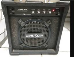 Cubo Ciclotron Wattsom Em Excelente Estado - Guit, Tecl,voz!