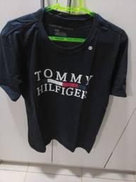 Camisas Tommy algodão 30.1