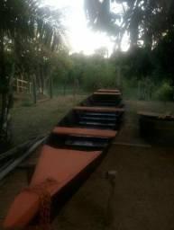 Canoa em madeira