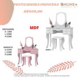 Penteadeira princesa com banquinho dh