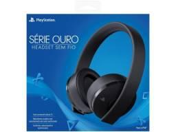 Sony Headset Sem Fio Série Ouro