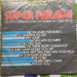 Título do anúncio: LP - Super Parada 1972