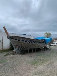 Bote / Barco em fabricação 11x5mts
