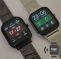 O Smartwatch DT35 (acabamento metal)
