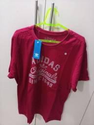 Camisas Adidas algodão 30.1