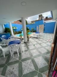 Casa em Itamaracá com piscina e 3 quartos climatizados no bairro do Pilar