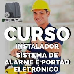 CURSO instalador sistema de Alarme