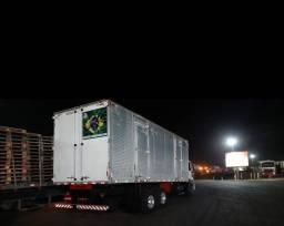Título do anúncio: Caminhão truck baú ford cargo 2428E ano 2008