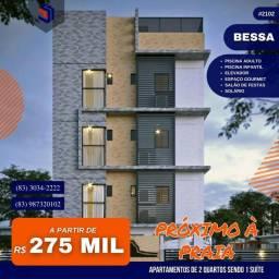 Apartamento para Venda em João Pessoa, Bessa, 2 dormitórios, 1 suíte, 2 banheiros, 1 vaga