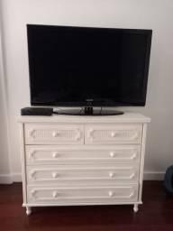 TV 46 polegadas Samsung com pé