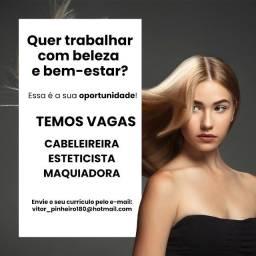 Título do anúncio: Vaga - Salão de Beleza