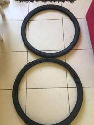 Par de pneus mountain bike aro 29, 2.10 de barbada